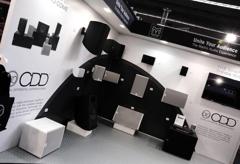 Martin Audio - Exhibition graphic design