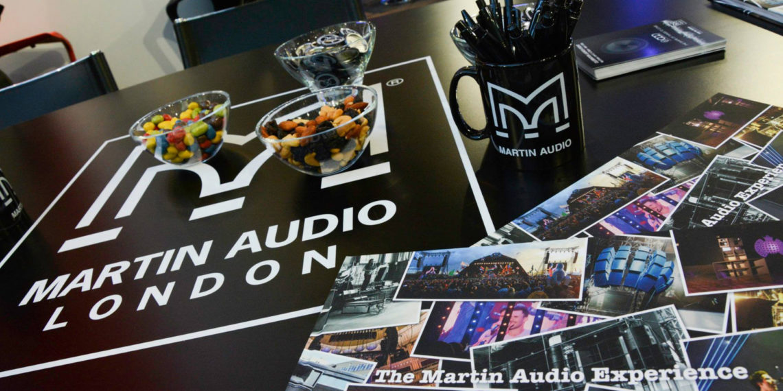 Martin Audio - Merchandise design