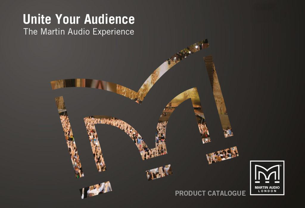 Martin Audio - Catalogue design