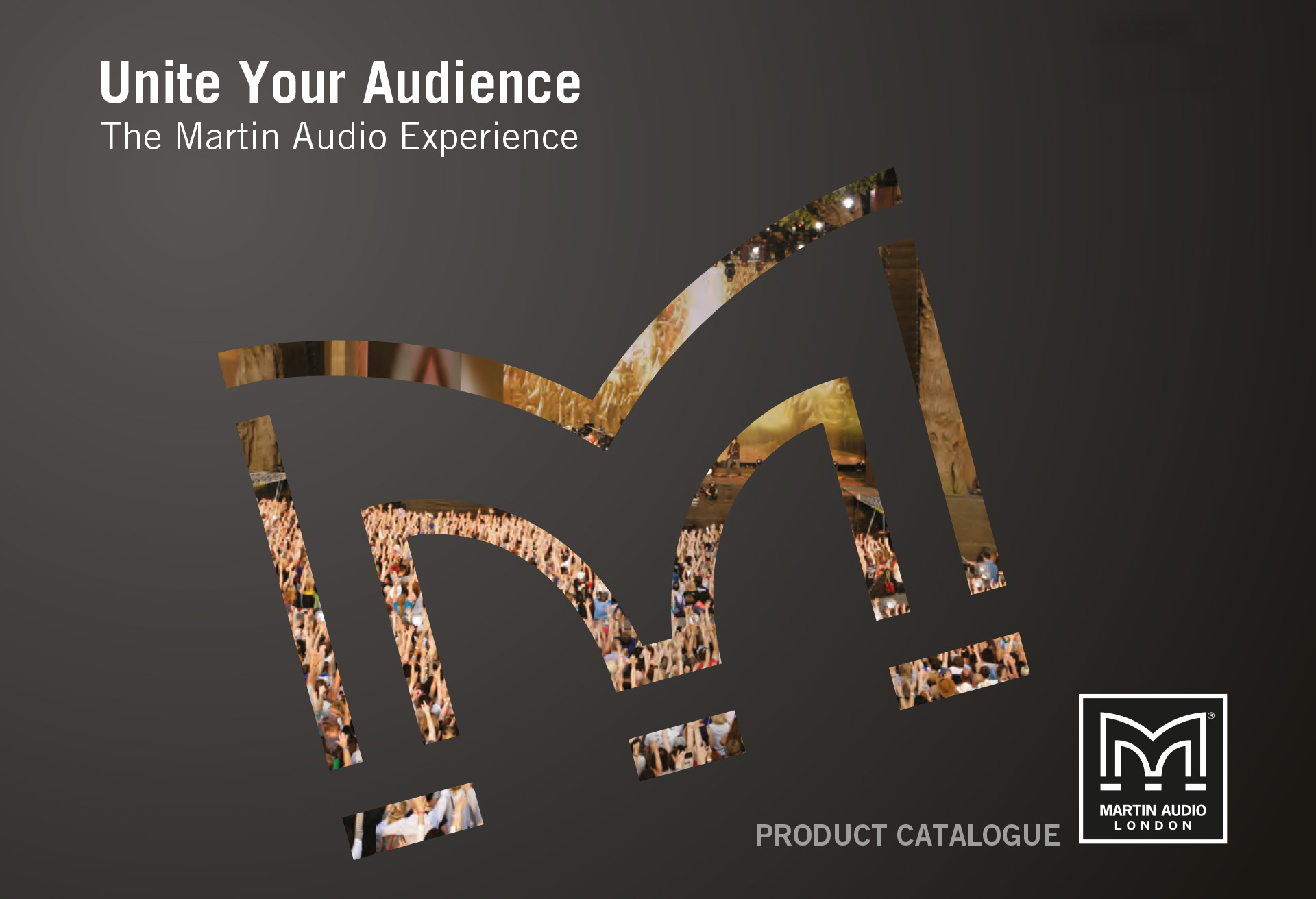 Martin Audio - Catalogue design