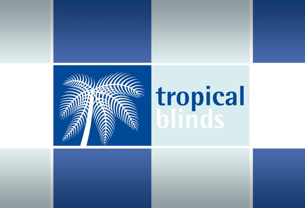 Tropical Blinds - Logo design