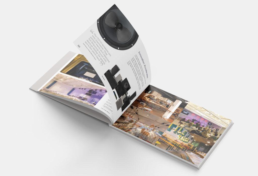 Martin Audio - Brochure Design