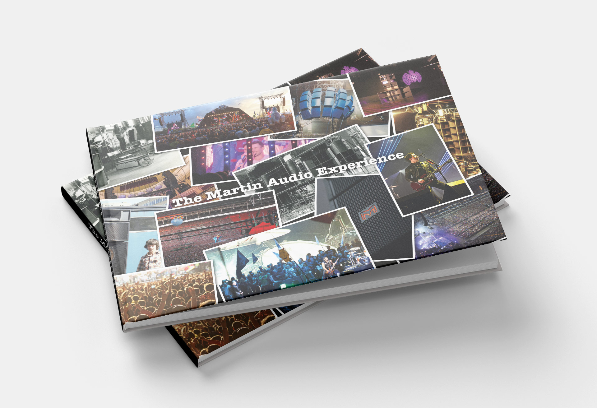 Martin Audio - Coffee Table Book Design