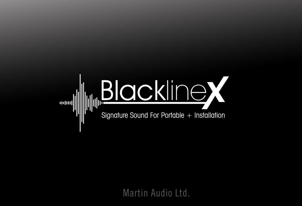 Martin Audio - BlacklineX Logo Design