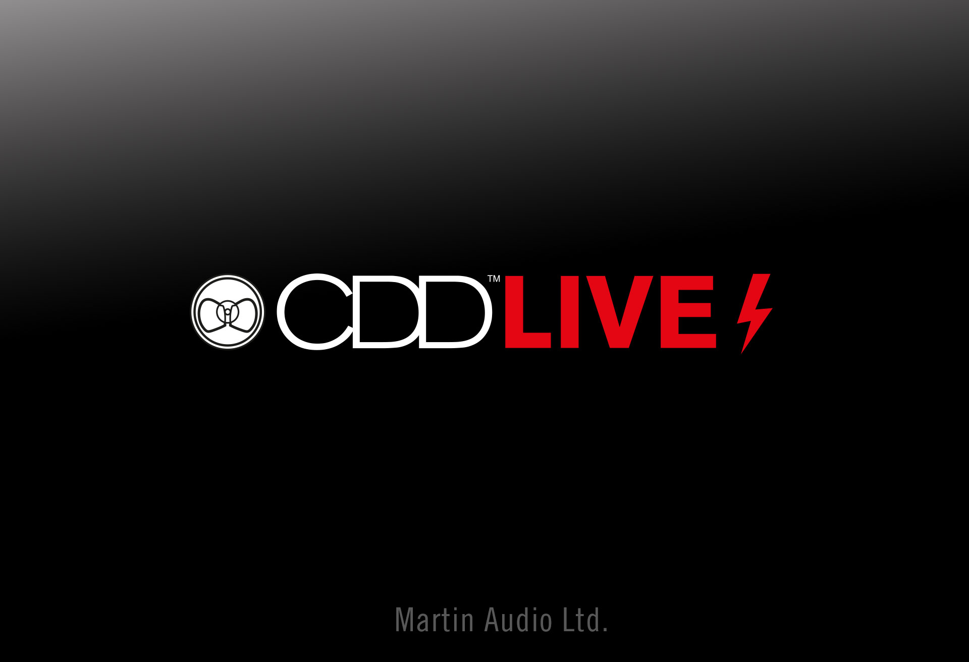 Martin Audio - CDDLIVE! Logo Design