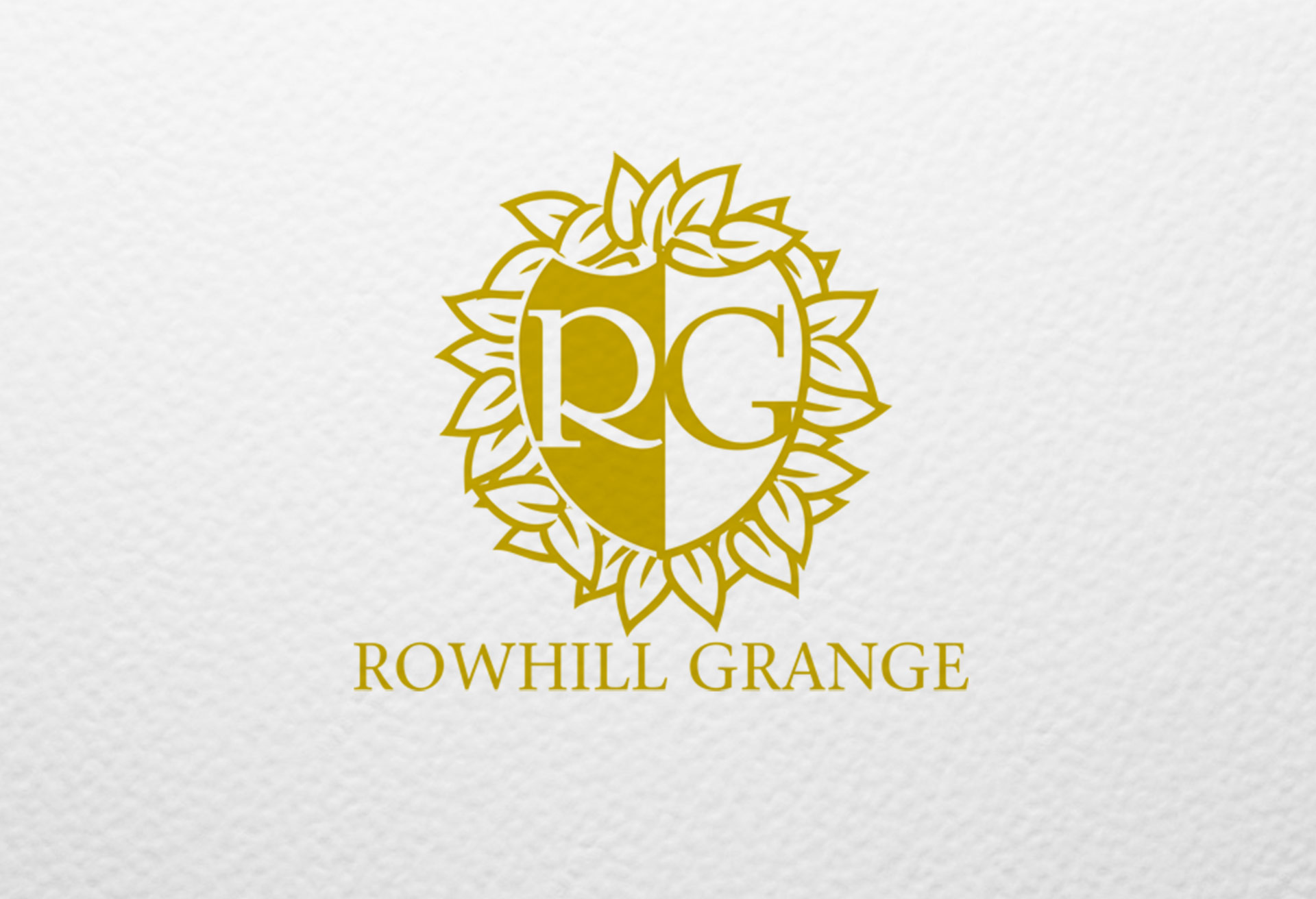 Rowhill Grange Hotel - Logo Design