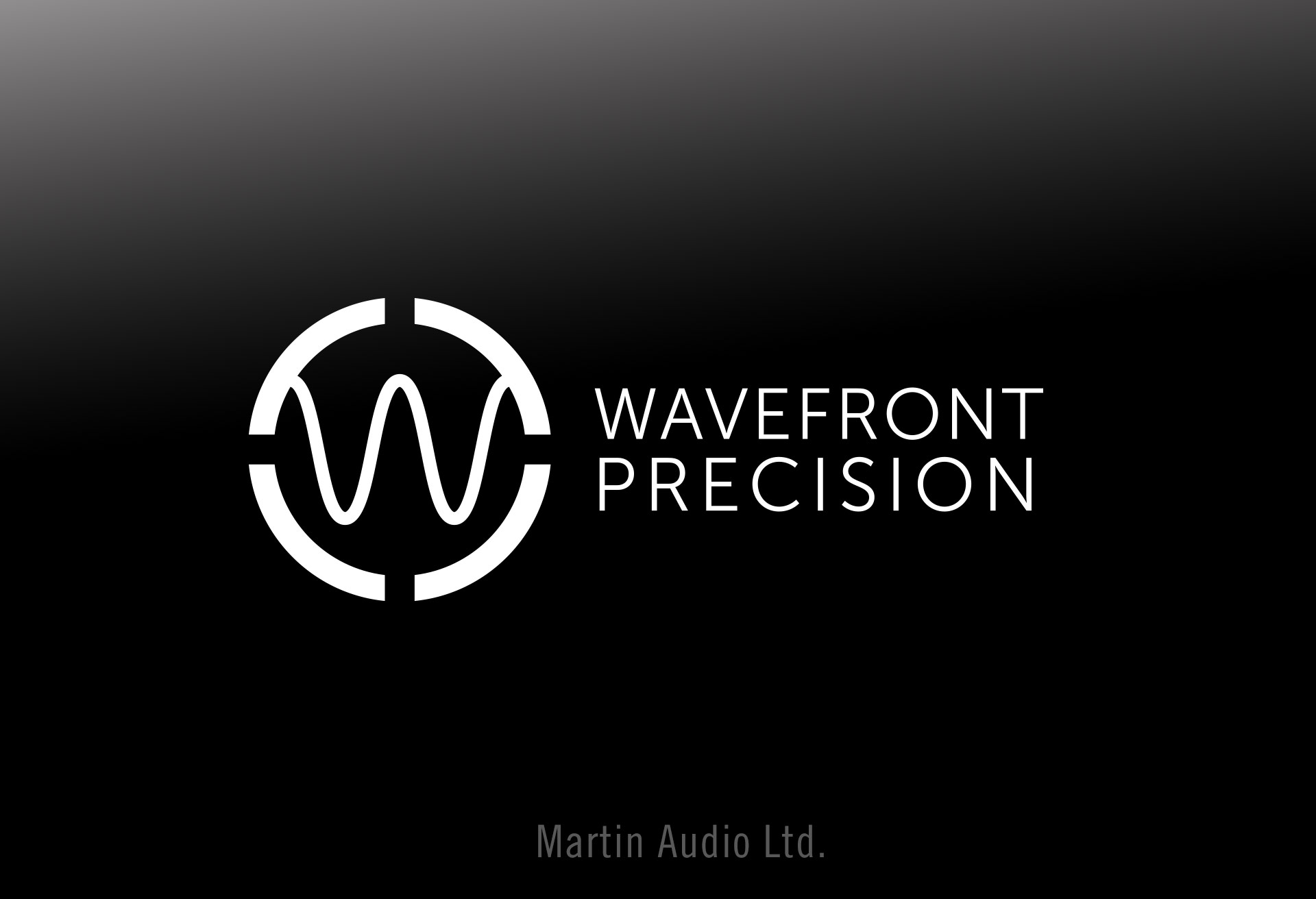 Martin Audio - Wavefront Precision Logo Design