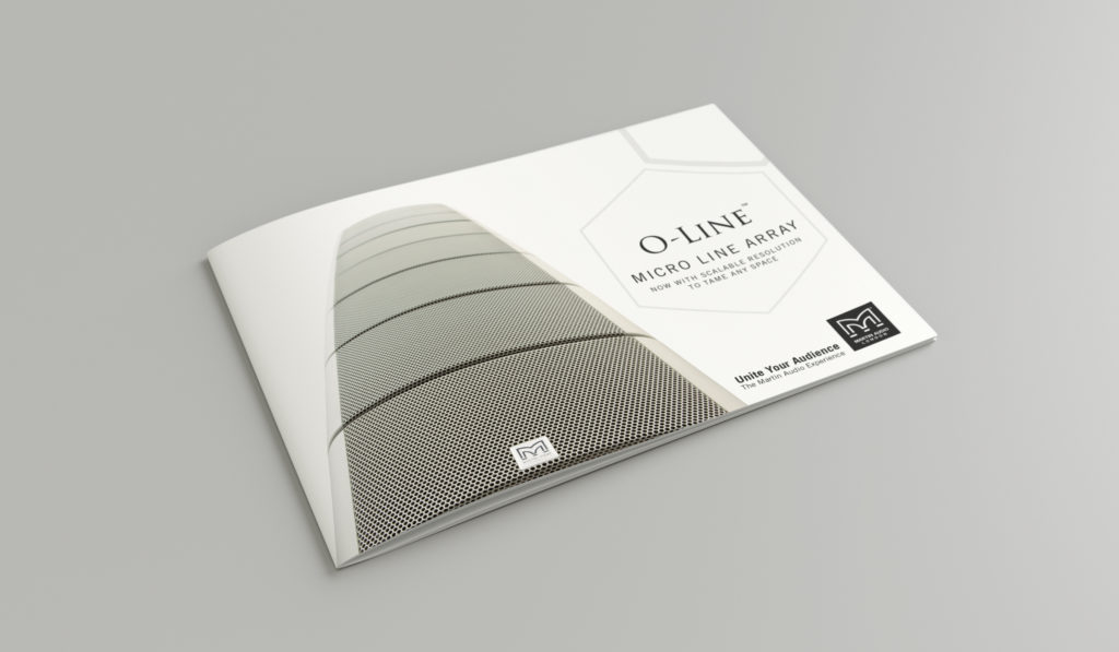 Martin Audio - Brochure Design