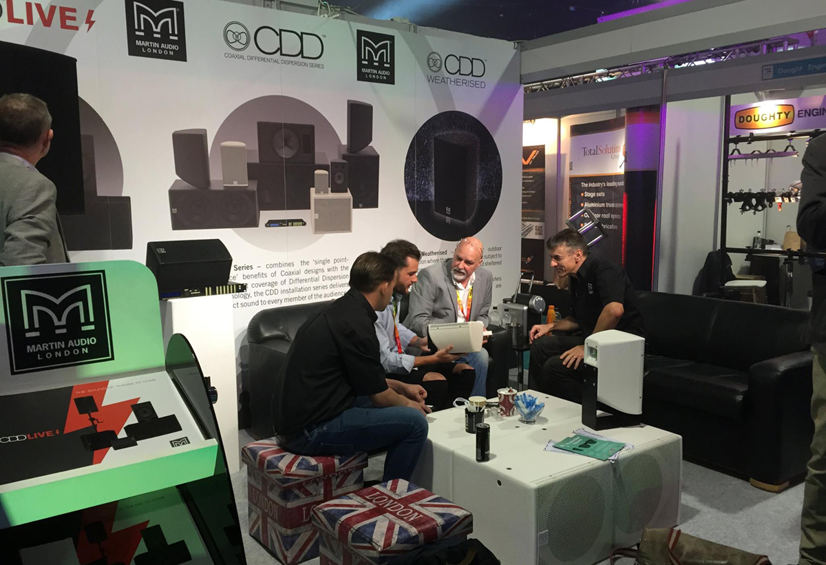 Martin Audio Exhibition Graphics