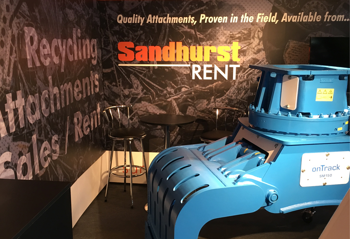 Sandhurst Ltd. Exhibition Graphics
